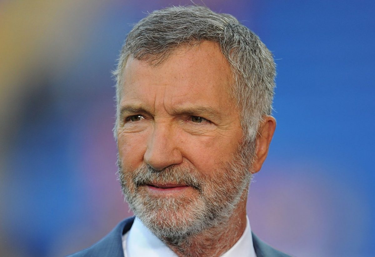 Graeme Souness working for Sky Sports during the UEFA Super Cup Final between Real Madrid CF and Sevilla FC at the Cardiff City Stadium in Cardiff, Wales, UK. Photo: Ben Radford/Visionhaus (Photo by Ben Radford/Corbis via Getty Images)