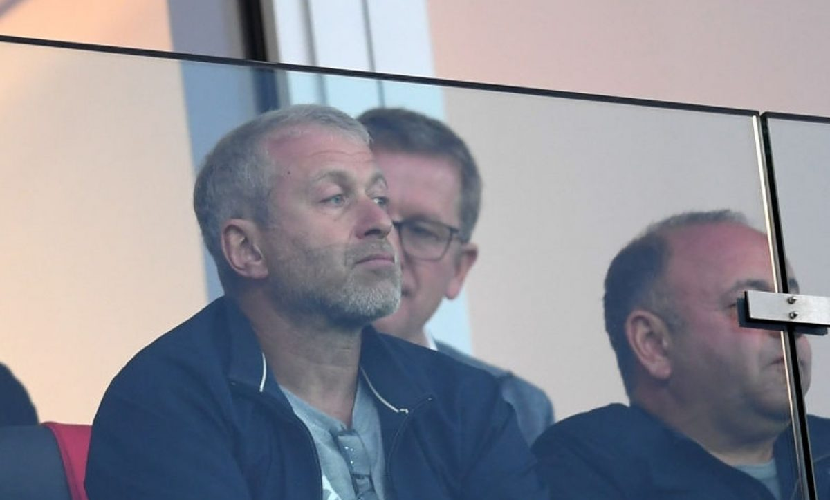 Roman Abramovich watches on from the stands during the pre-season friendly match between RB Salzburg and FC Chelsea at Red Bull Arena on July 31, 2019 in Salzburg, Austria. (Photo by Darren Walsh/Chelsea FC via Getty Images)