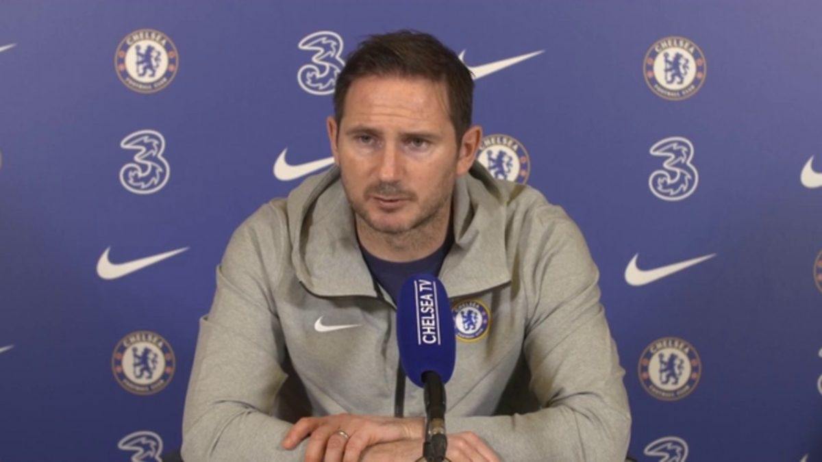 Press Conference: Frank Lampard on N'Golo Kante, Timo Werner, Fikayo Tomori and more