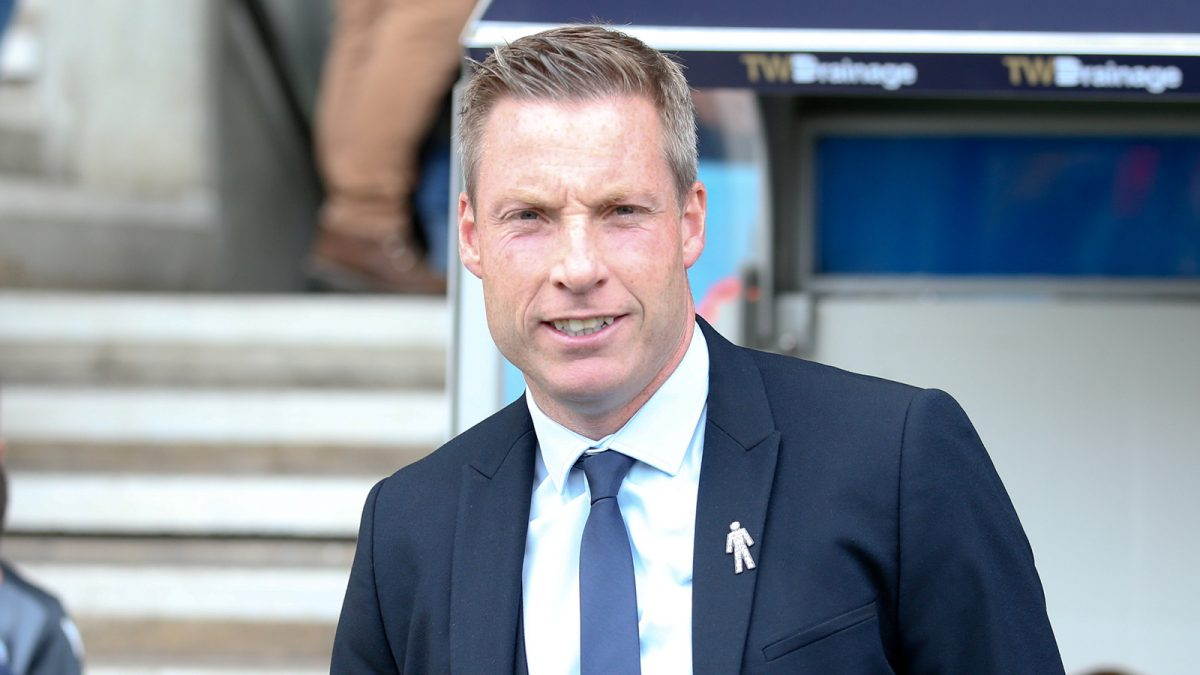 Neil Harris, manager of Cardiff City