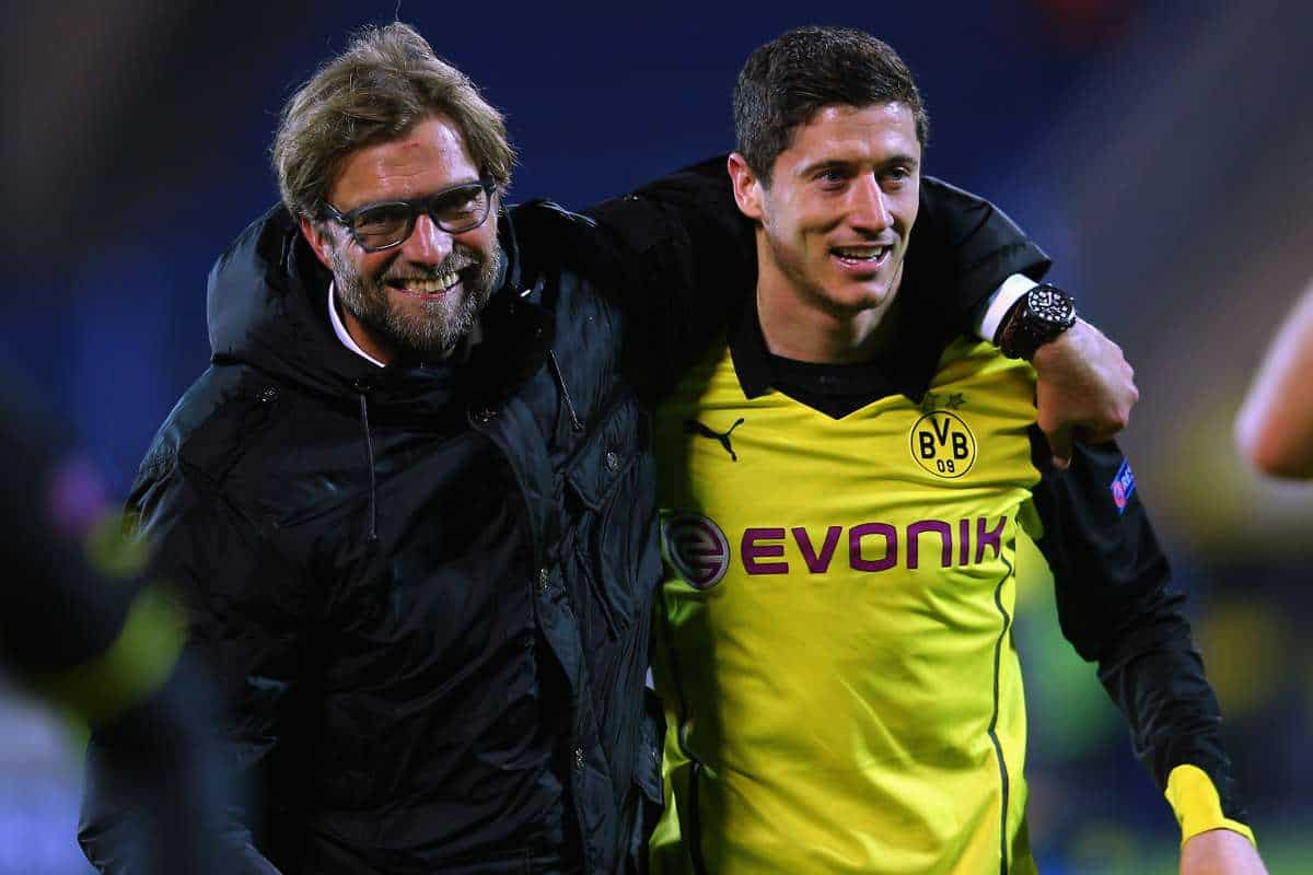 "Bayern Munich star Robert Lewandowski makes ""bad teacher"" claim over Liverpool boss Jurgen Klopp"