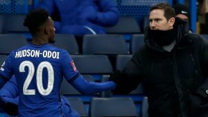 Chelsea's Callum Hudson-Odoi agrees with Frank Lampard as player makes a vow