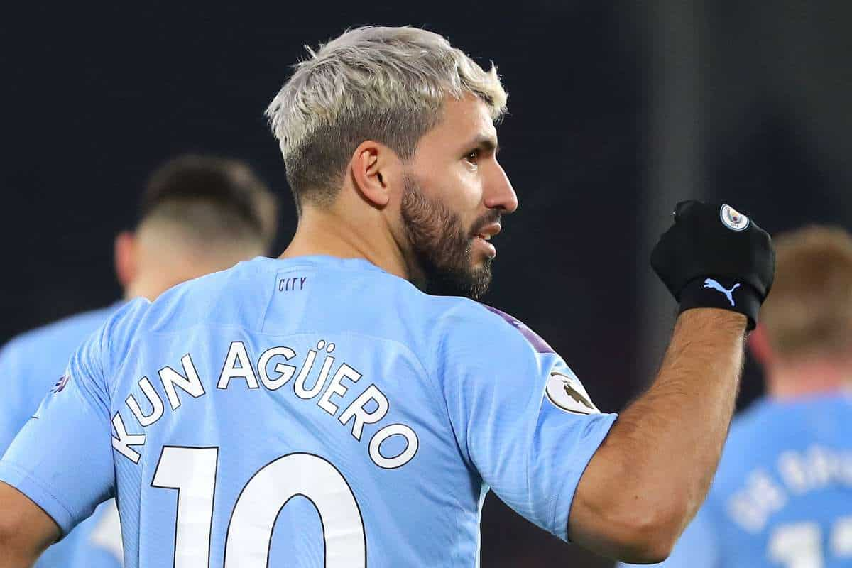 Manchester City's Sergio Aguero provides update on his recovery