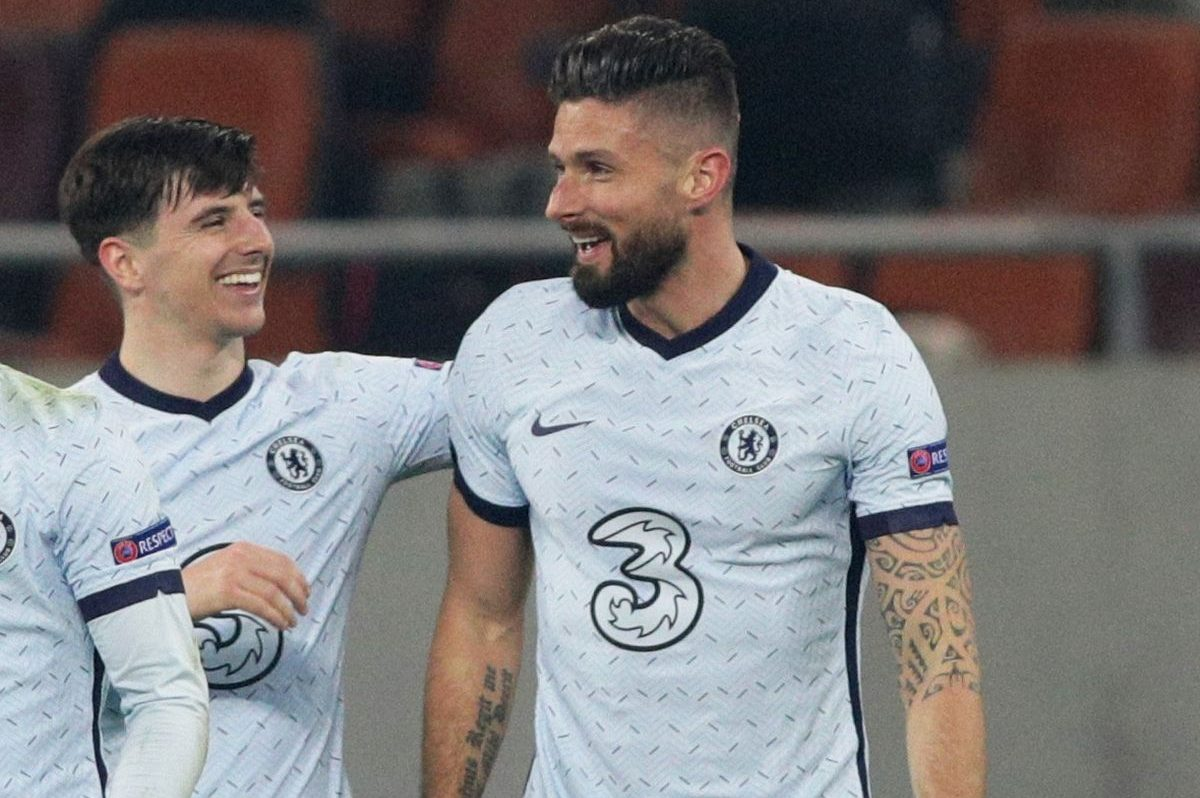 What Mason Mount did before Olivier Giroud's goal against Atletico Madrid