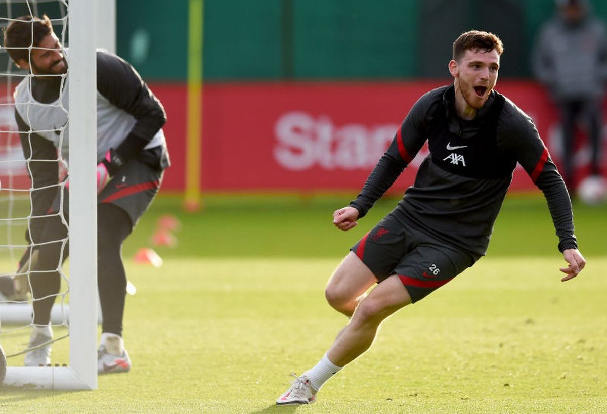 Andy Robertson makes bold claim on dressing room fight with Alisson