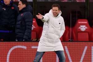 Julian Nagelsmann in charge at RB Leipzig