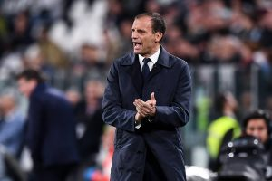 Massimiliano Allegri in charge at Juventus