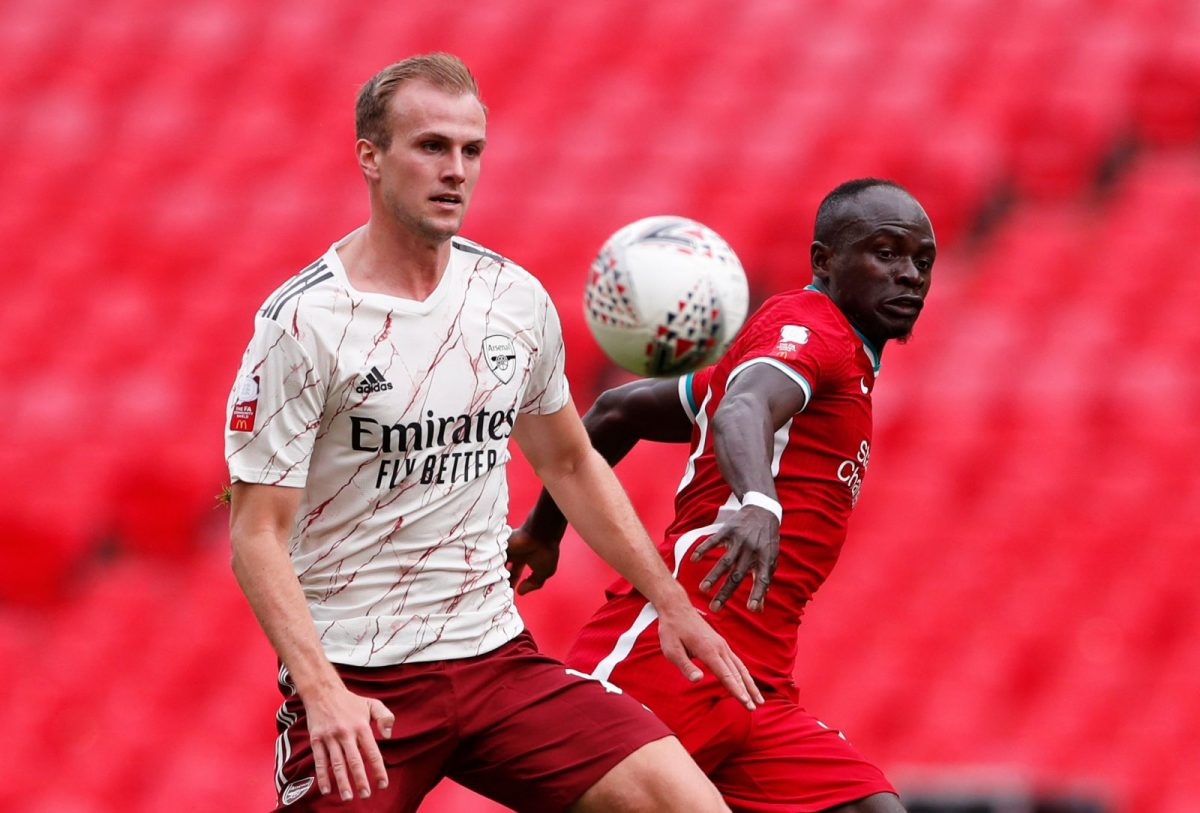 Rob Holding of Arsenal