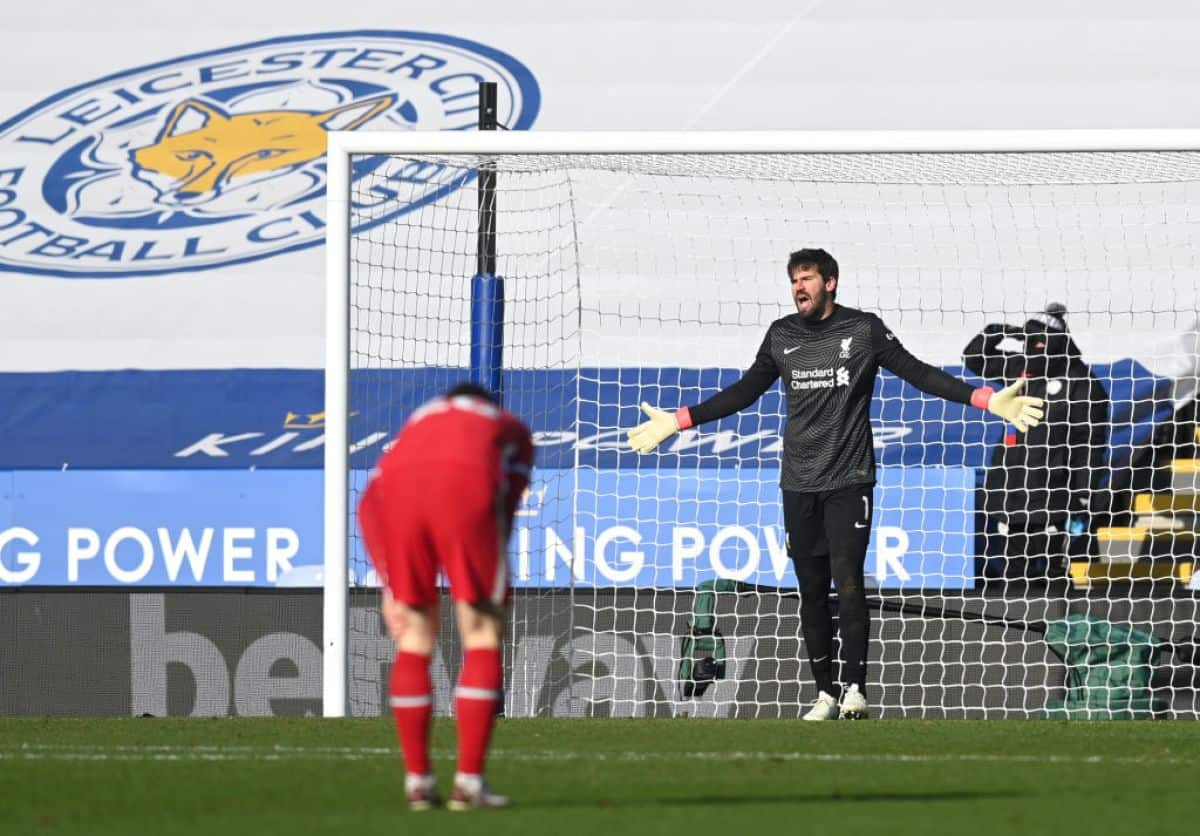 James Maddison sends classy message to 'top' quality Alisson after Liverpool loss to Leicester