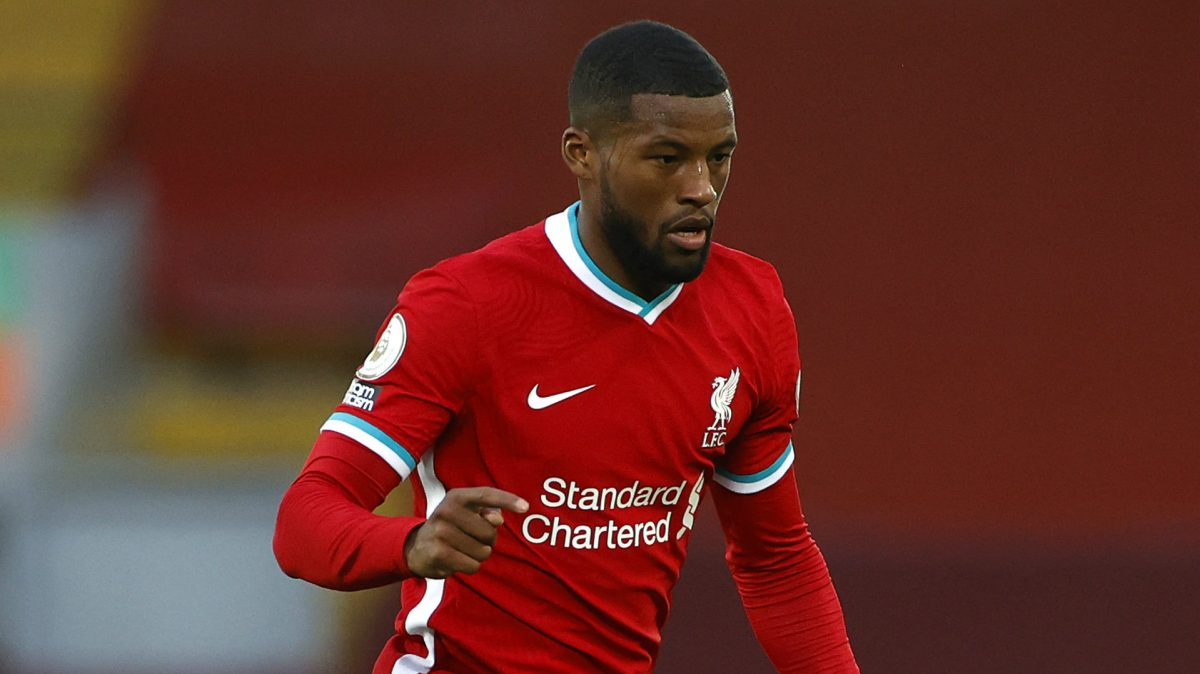 WIjnaldum of Liverpool