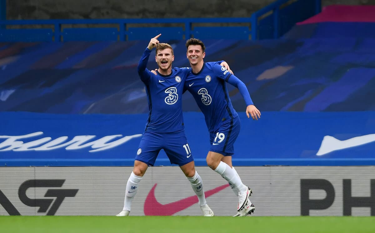 Mason Mount trolls his Chelsea teammate Timo Werner in his latest EA Sports FIFA challenge