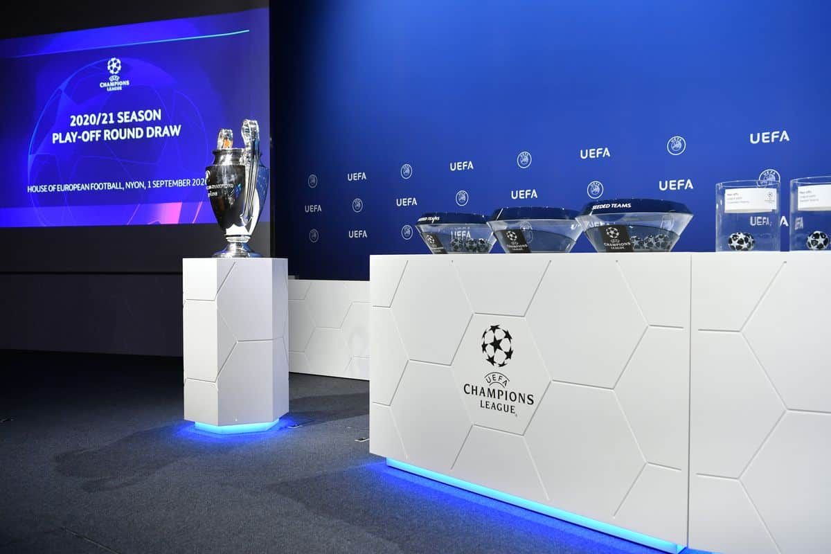 UEFA Champions League Quarter-Final and Semi-Final Draw Results