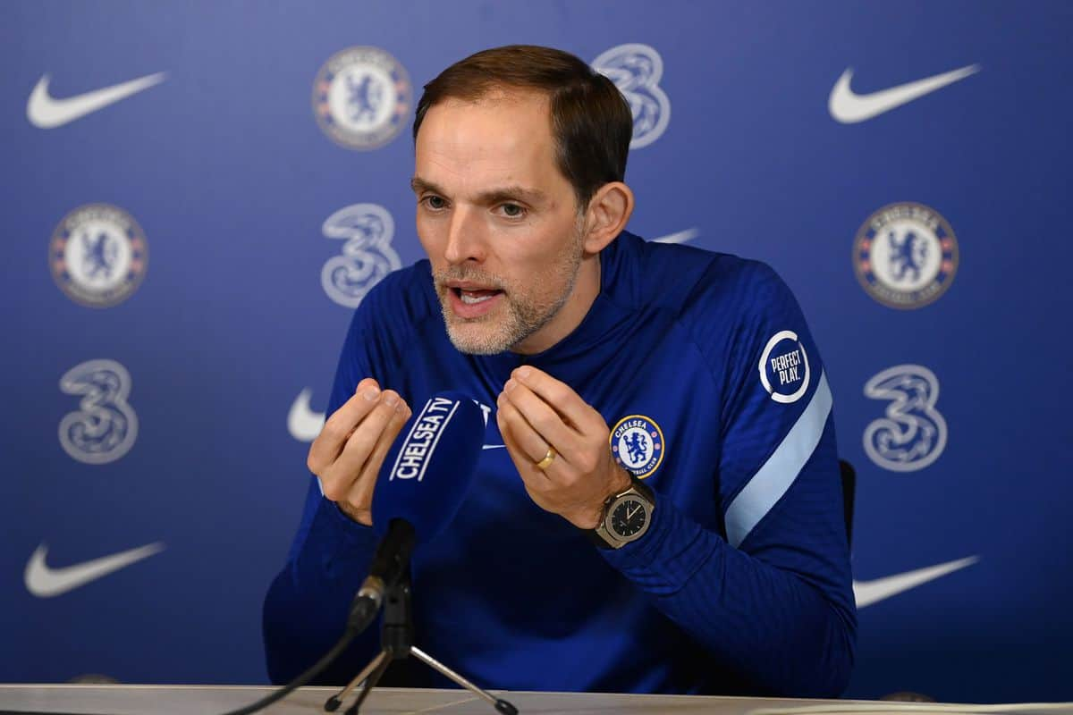 Press Conference: Thomas Tuchel on Champions League draw, Silva and Abraham injury news, Giroud's future, FA Cup and more