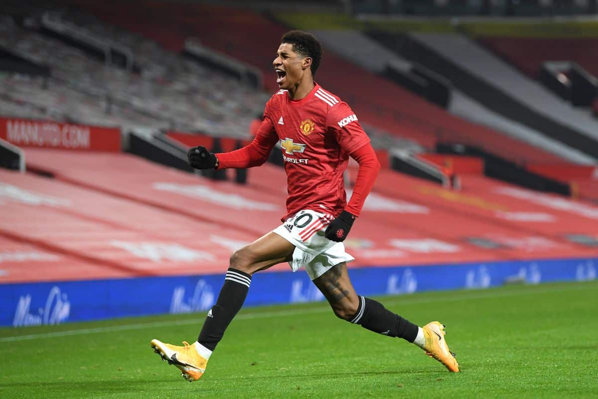 Marcus Rashford names Manchester City as one rival player he'd like to play with