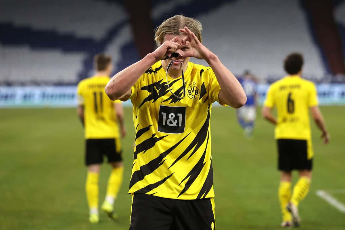 Erling Haaland scores 20 goals in the Champions League