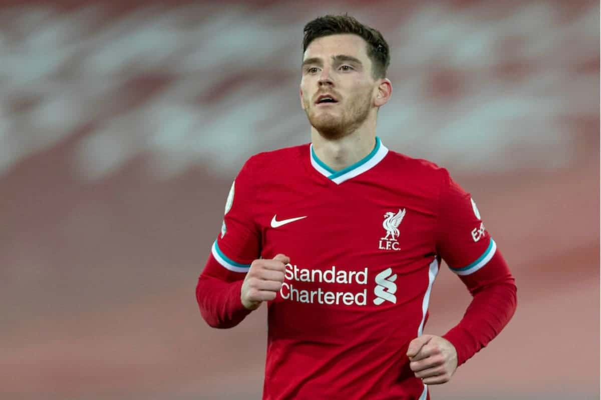 """Alphonso Davies left stunned after fan makes """"best"""" claim over Liverpool's Andy Robertson"""