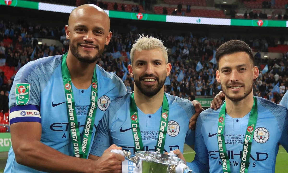 Vincent Kompany pays tribute to Manchester City star Sergio Aguero