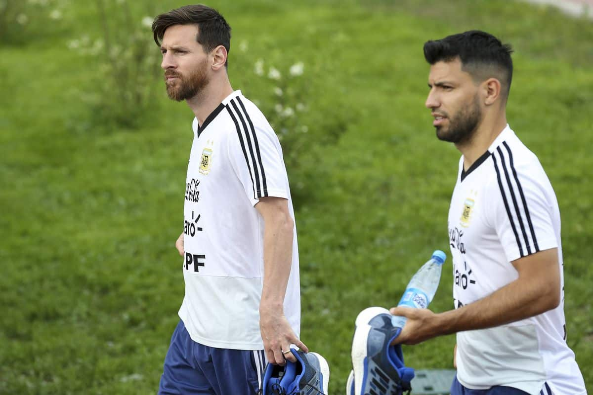 What Messi told Barcelona after Aguero's exit from Manchester City confirmed