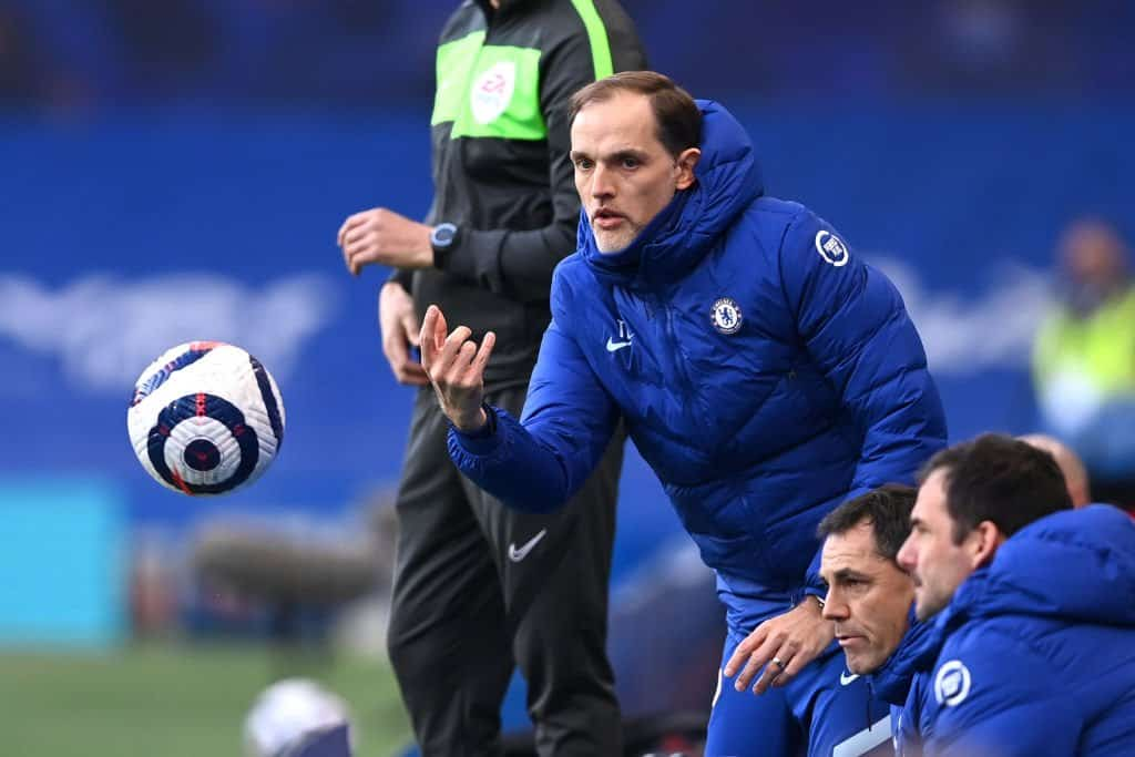 Thomas Tuchel and Chelsea staff