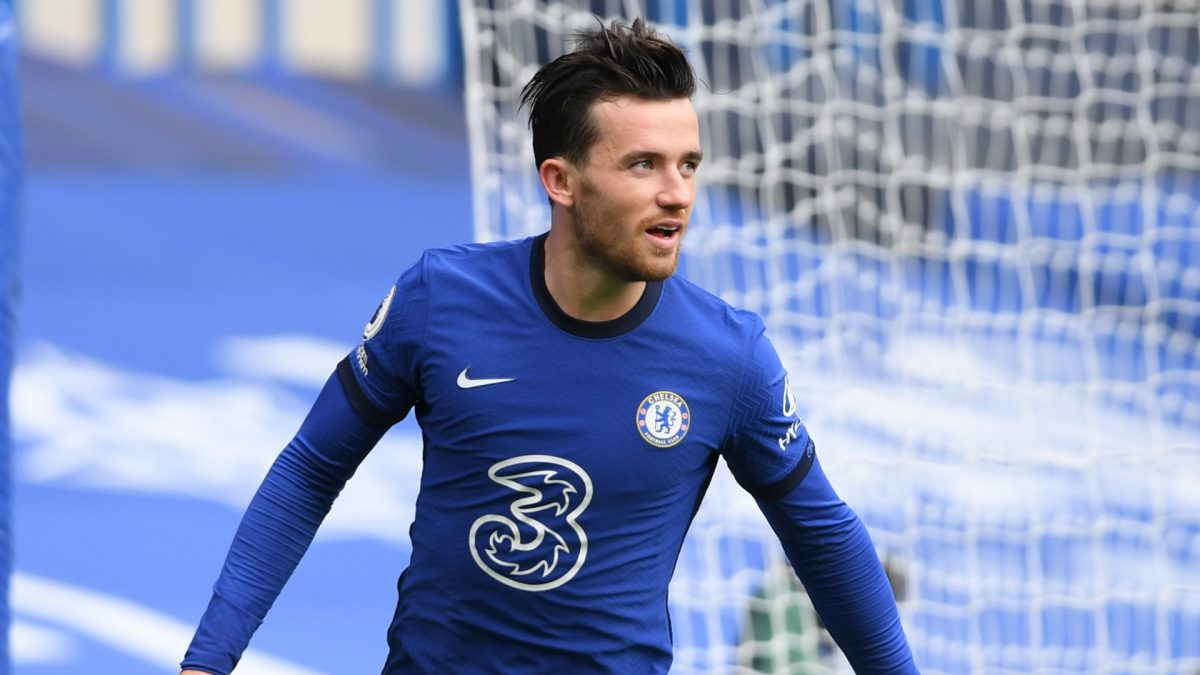 Ben Chilwell in action for Chelsea