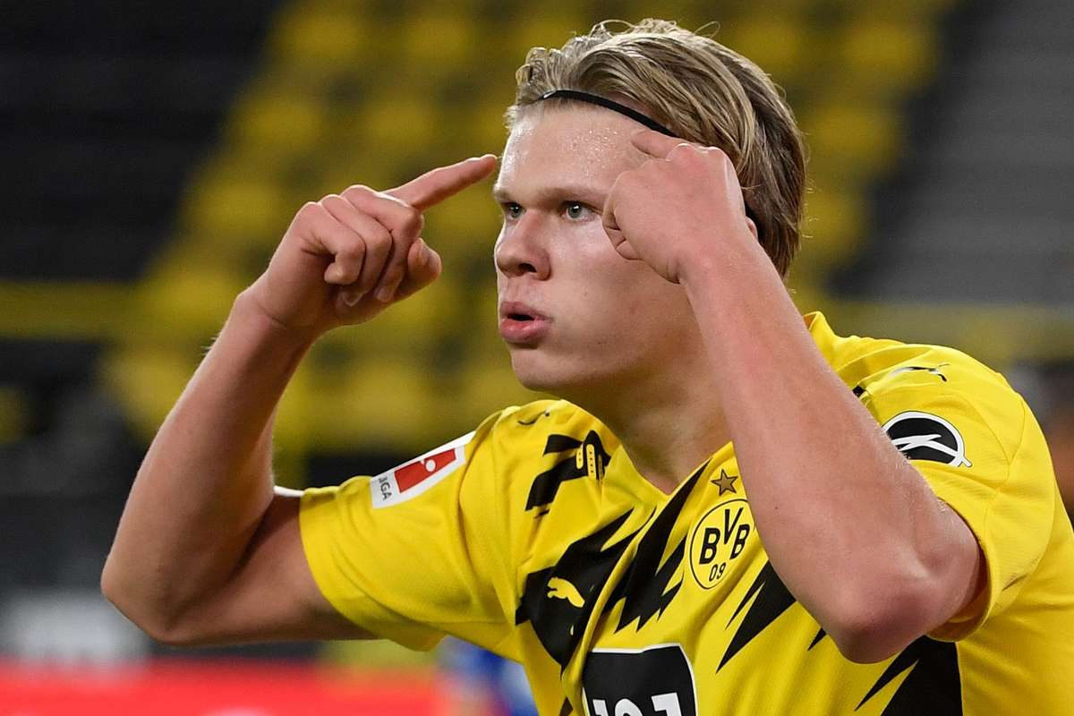 Pep Guardiola responds to Manchester City's interest in Erling Haaland