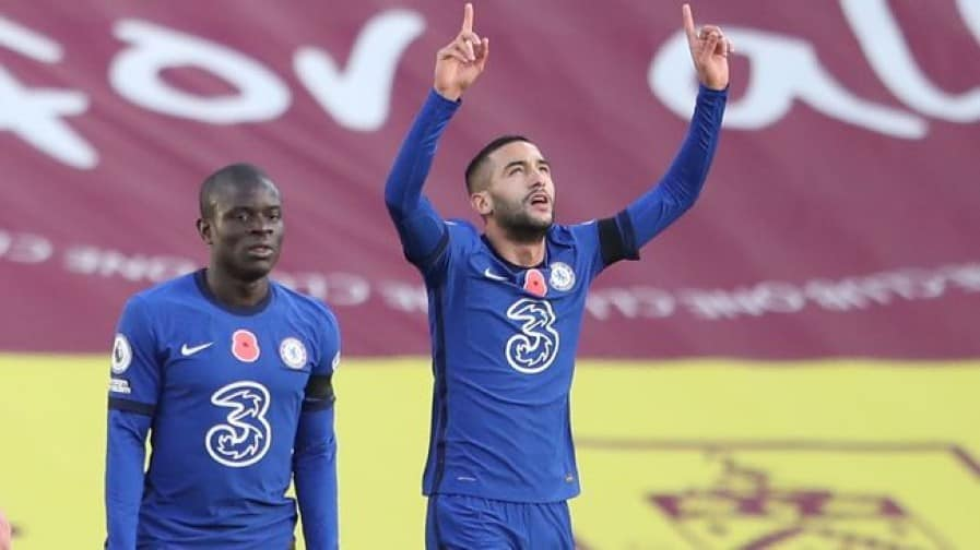 How N'Golo Kante surprised Hakim Ziyech in Chelsea training ahead of Atletico clash