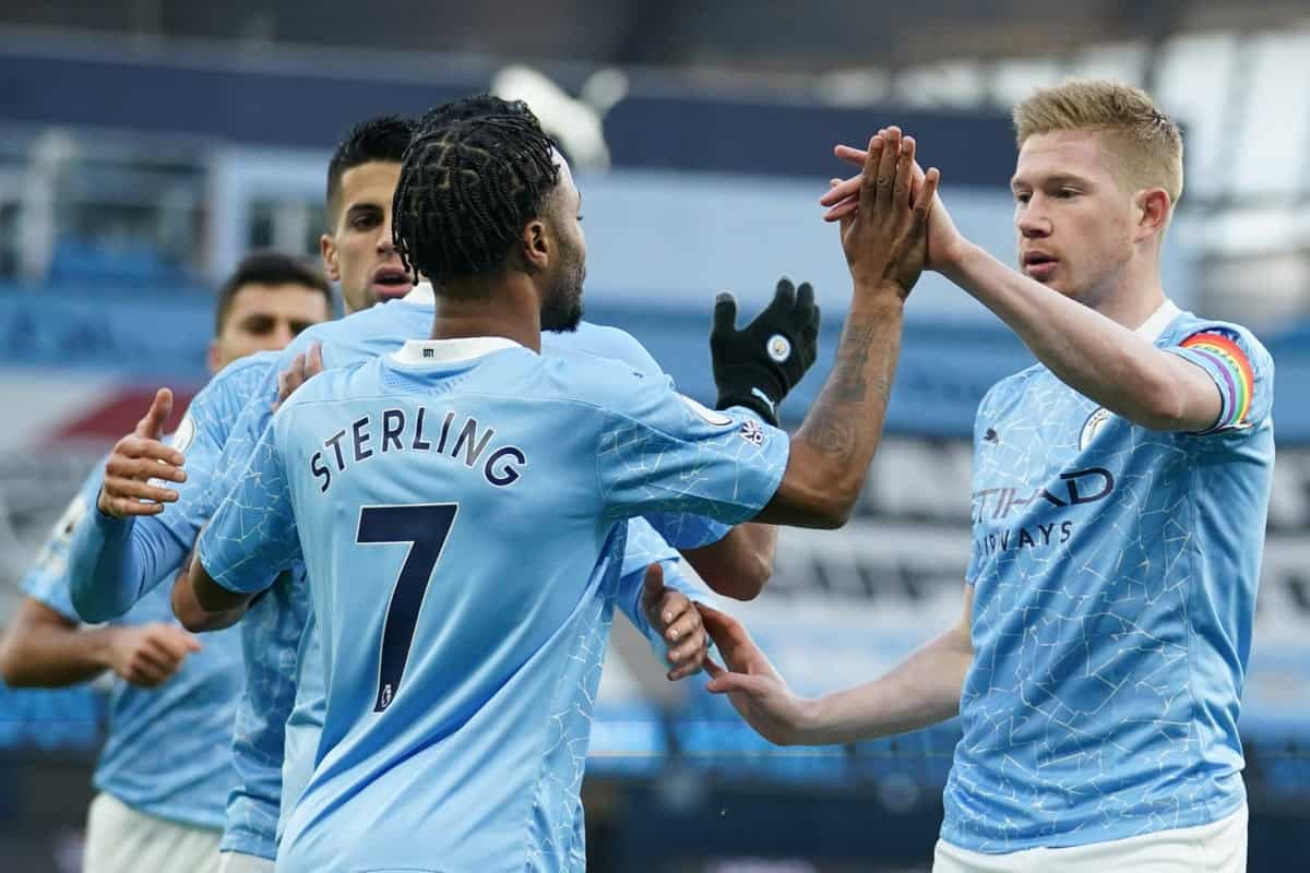 Manchester City provided update on Kevin De Bruyne, Raheem Sterling and Sergio Aguero contract situation