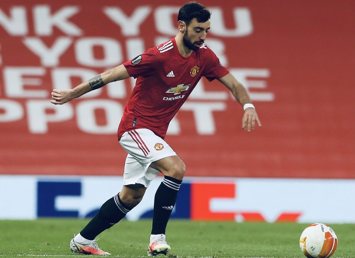 """Bruno Fernandes makes """"frustrating"""" claim and sends message to Amad after Manchester United's draw with AC Milan"""