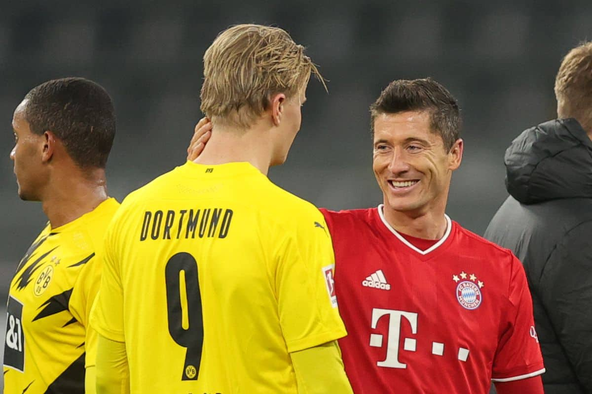Robert Lewandowski has already told Chelsea why they should sign Erling Haaland