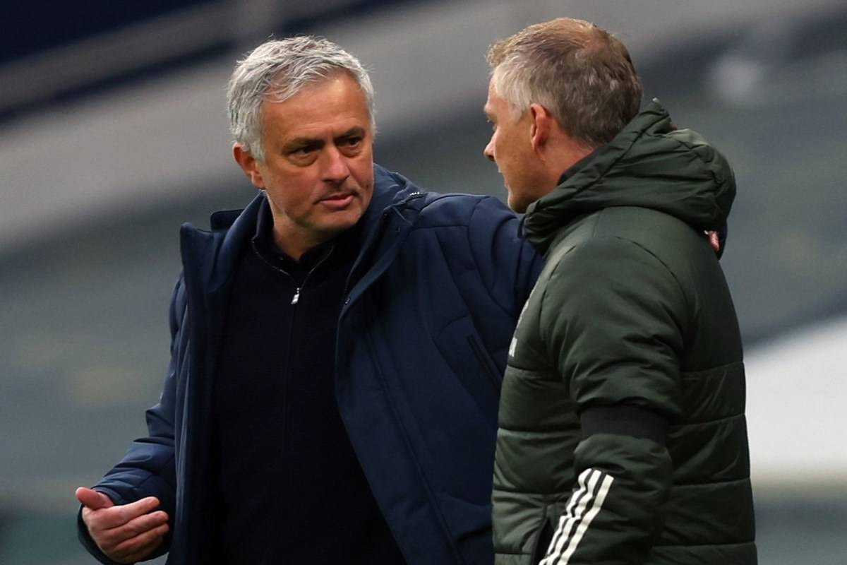 Ole Gunnar Solskjaer's son reacts to Jose Mourinho comments after Manchester United defeat