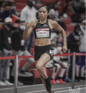 Allyson Felix in contention to take part in Tokyo 2020