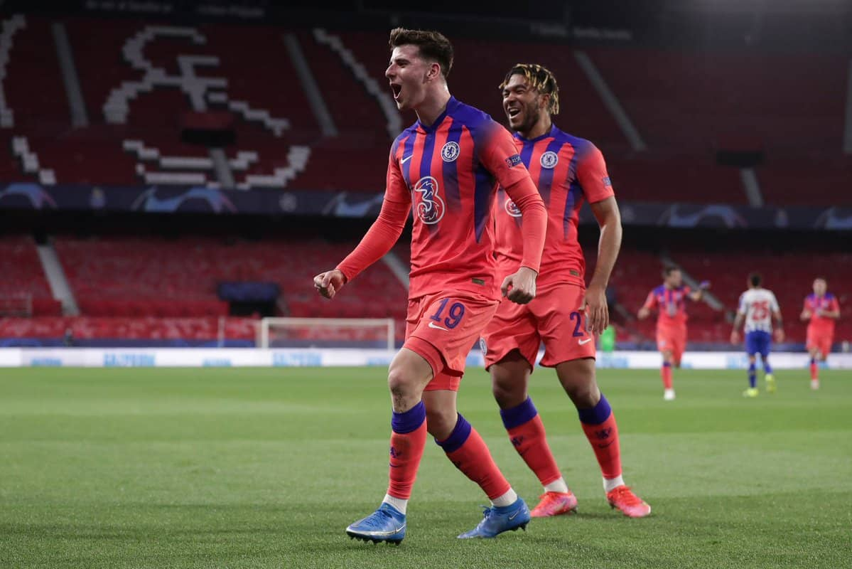 Tammy Abraham teases Mason Mount and Ben Chilwell after they scored in Chelsea's win against Porto