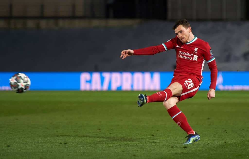 Andy Robertson makes vow to Liverpool fans ahead of Champions League second leg tie with Real Madrid