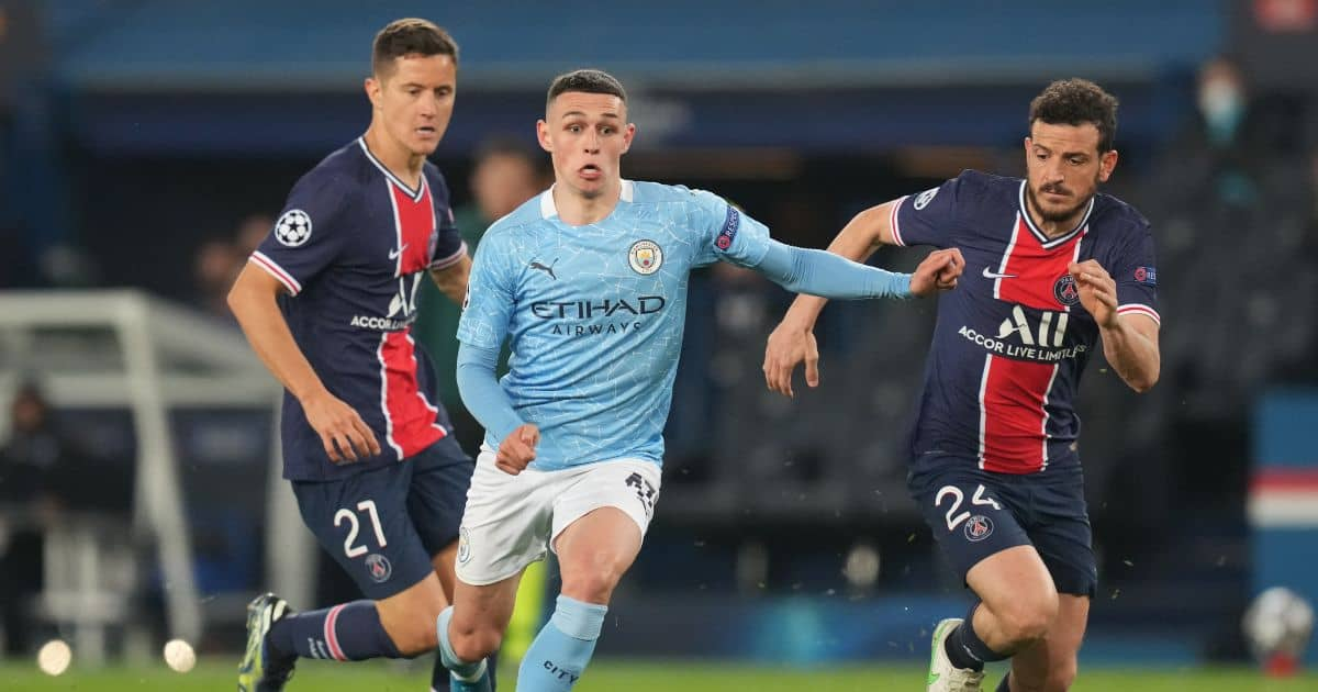 What happened between Phil Foden and Neymar after Manchester City win over PSG