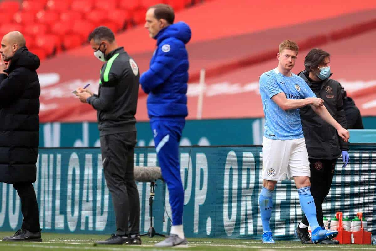 Pep Guardiola provides update on Kevin De Bruyne injury after FA Cup loss