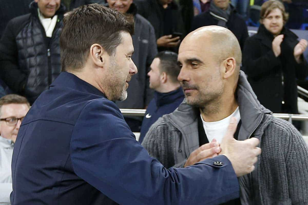 """Mauricio Pochettino makes """"unbelievable"""" claim over Manchester City and Pep Guardiola ahead of Champions League clash"""