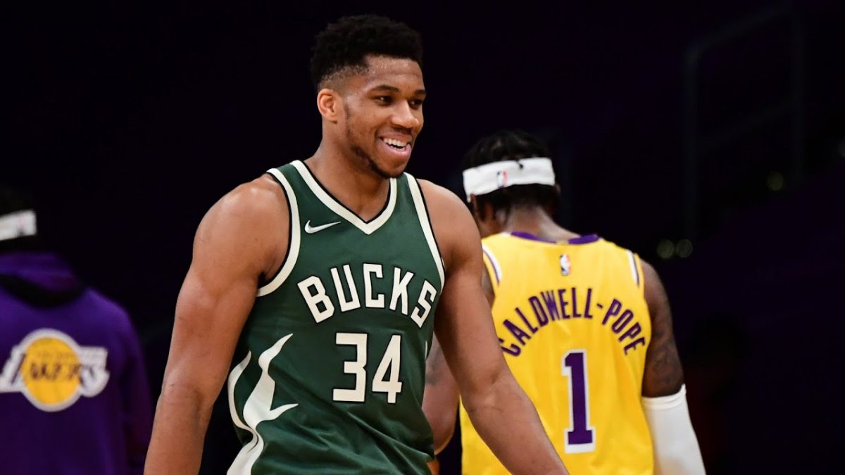 Giannis Antetokounmpo speaks out on playing NBA game with his two brothers following Lakers win