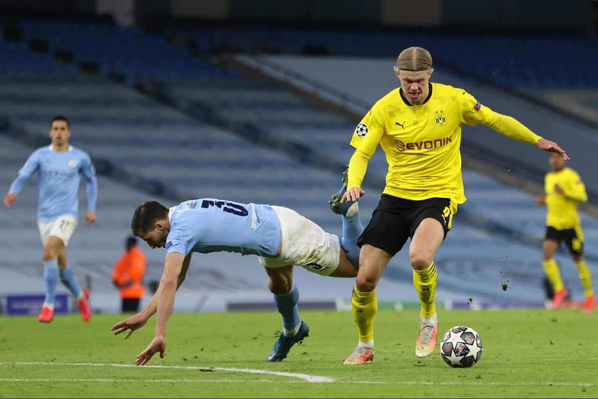 Erling Haaland involved in weird moment in the tunnel after Manchester City loss