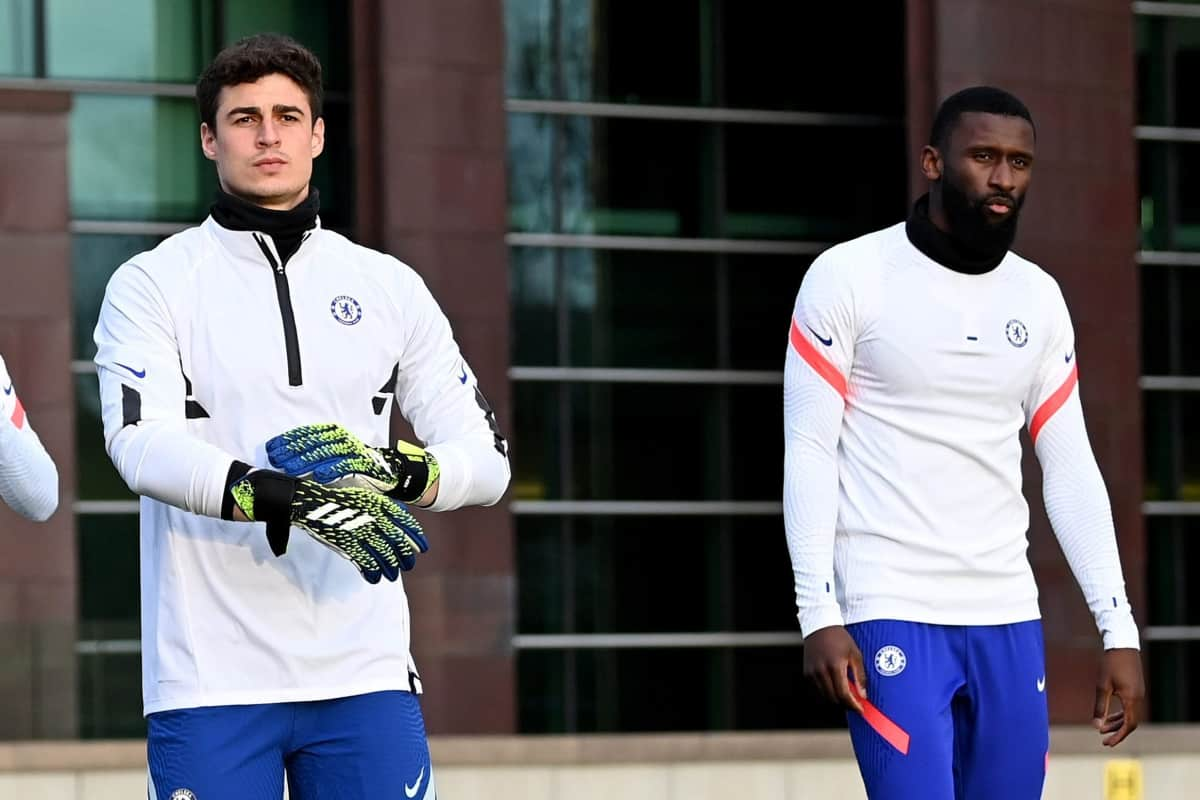 Marcos Alonso clears up rumours on Antonio Rudiger and Kepa fight in Chelsea training