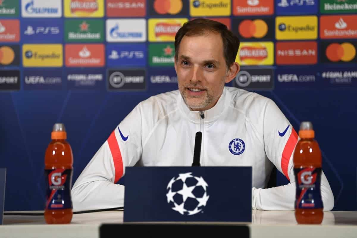 Press conference: Thomas Tuchel provides Pulisic, Kante and Abraham fitness update ahead of Porto clash