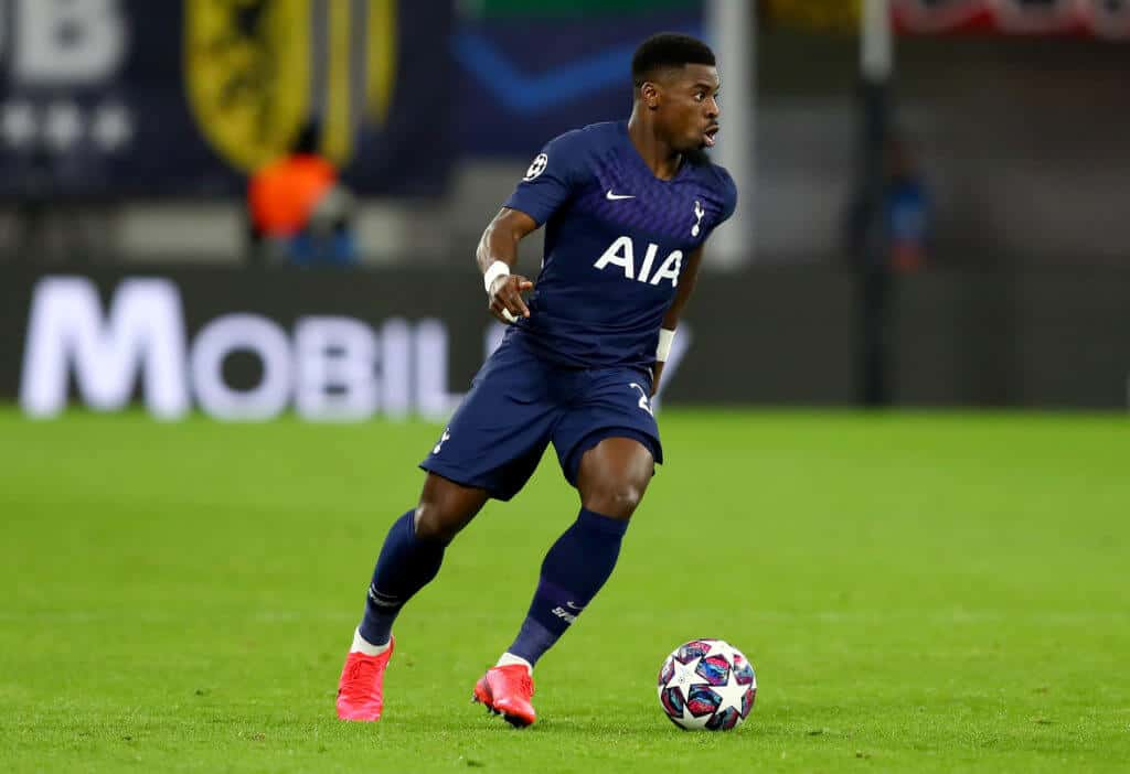 Serge Aurier in action for Tottenham