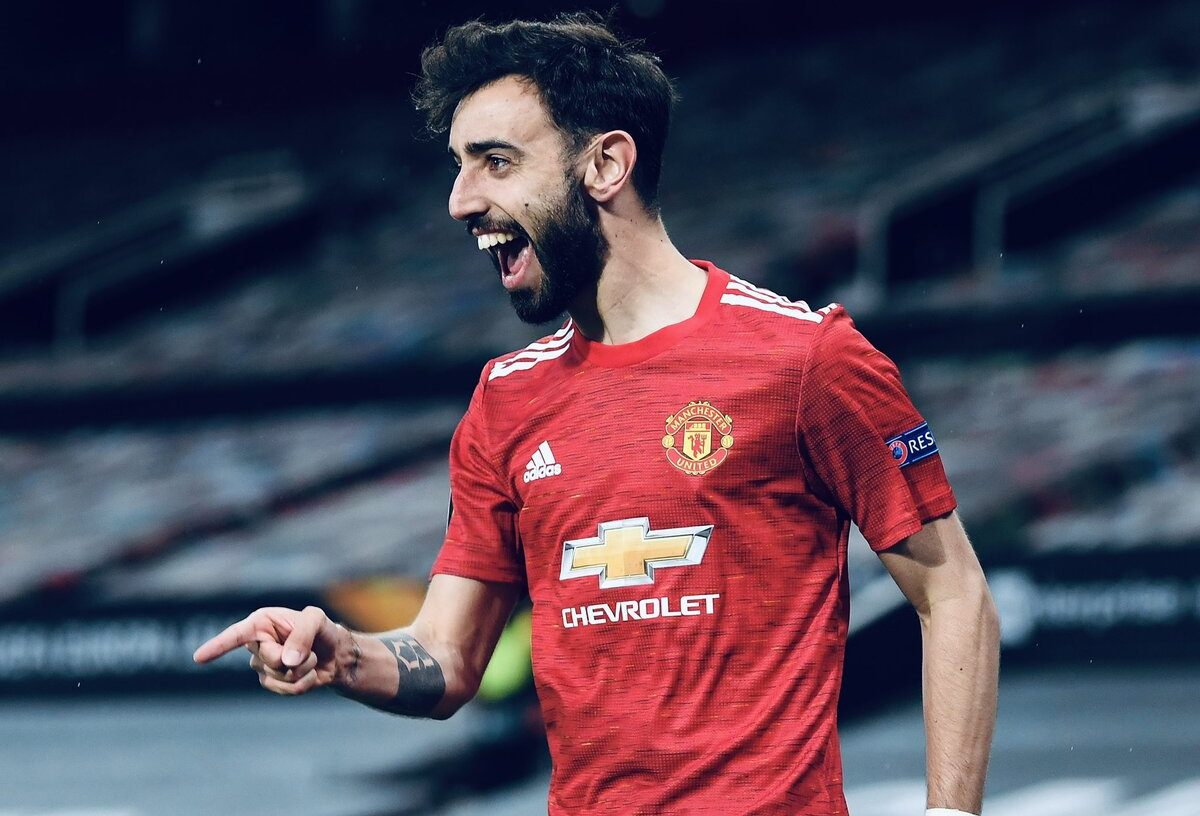 Bruno Fernandes sends savage message after Manchester United's thrashing win over Roma