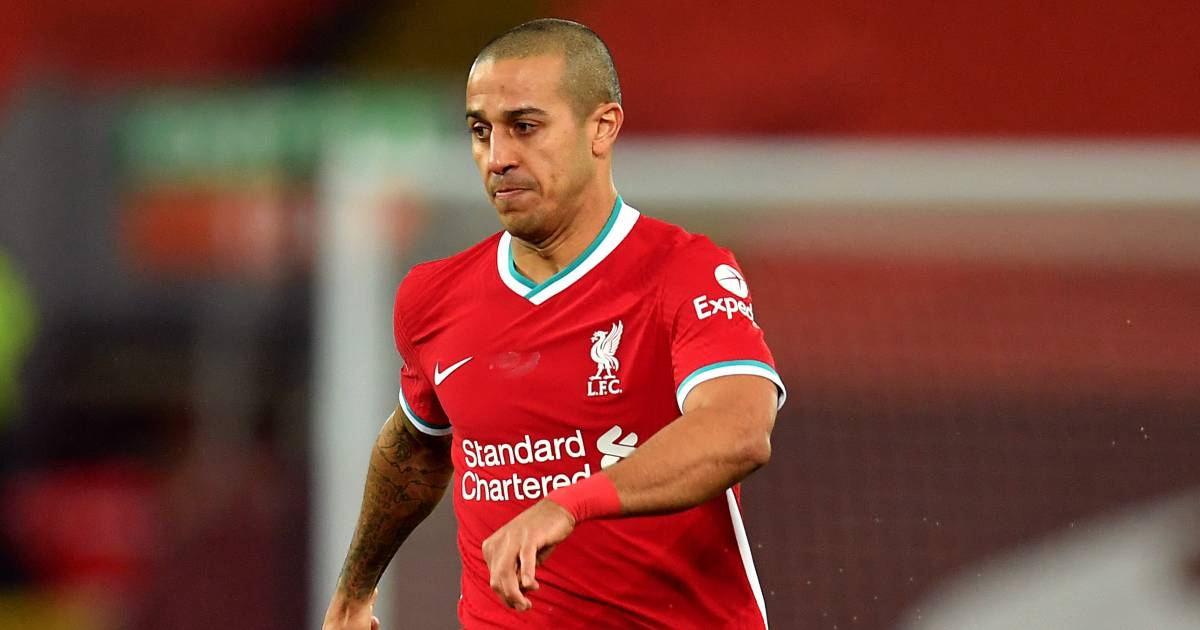 """Thiago agrees with Jurgen Klopp over Liverpool's """"disappointing"""" performance vs Newcastle"""