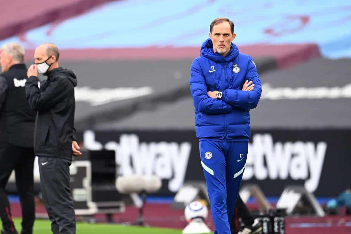 Thomas Tuchel's reaction to Timo Werner miss against West Ham