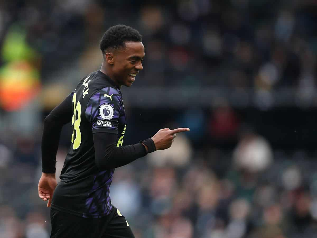 Joe Willock in action for Newcastle