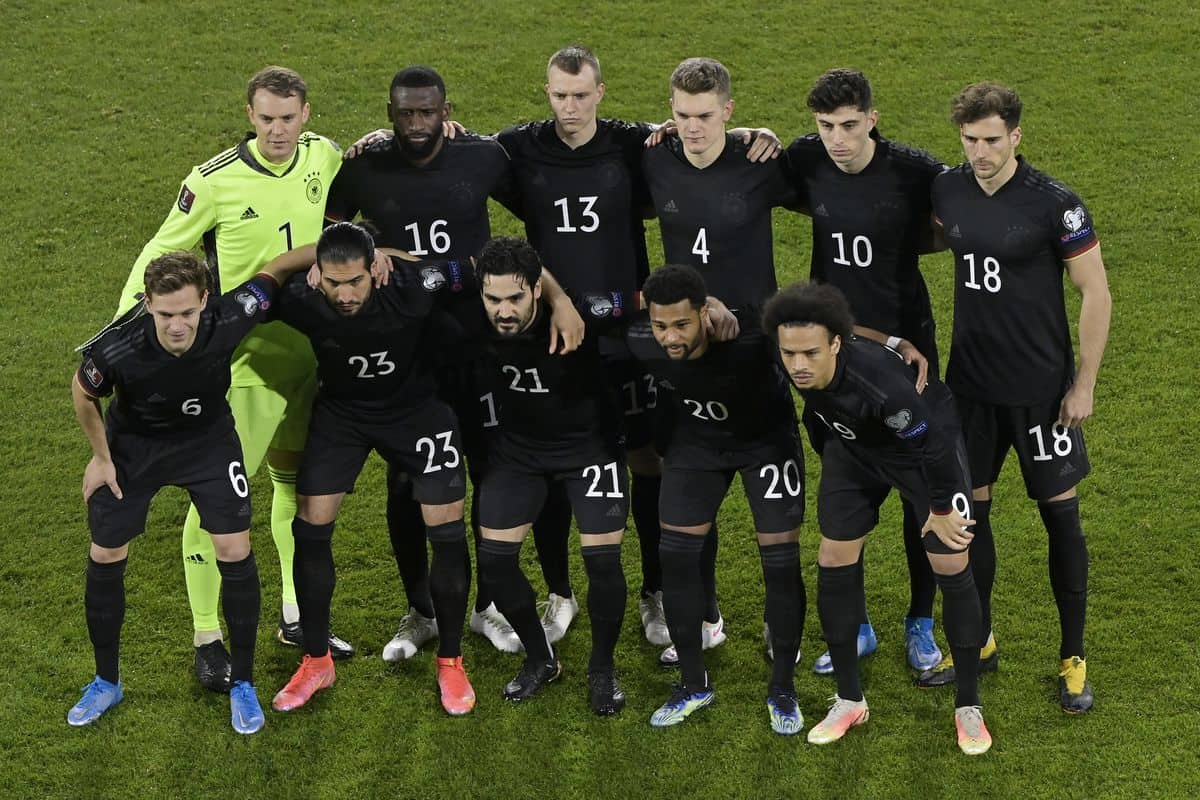 Germany's predicted squad for FIFA World Cup 2022