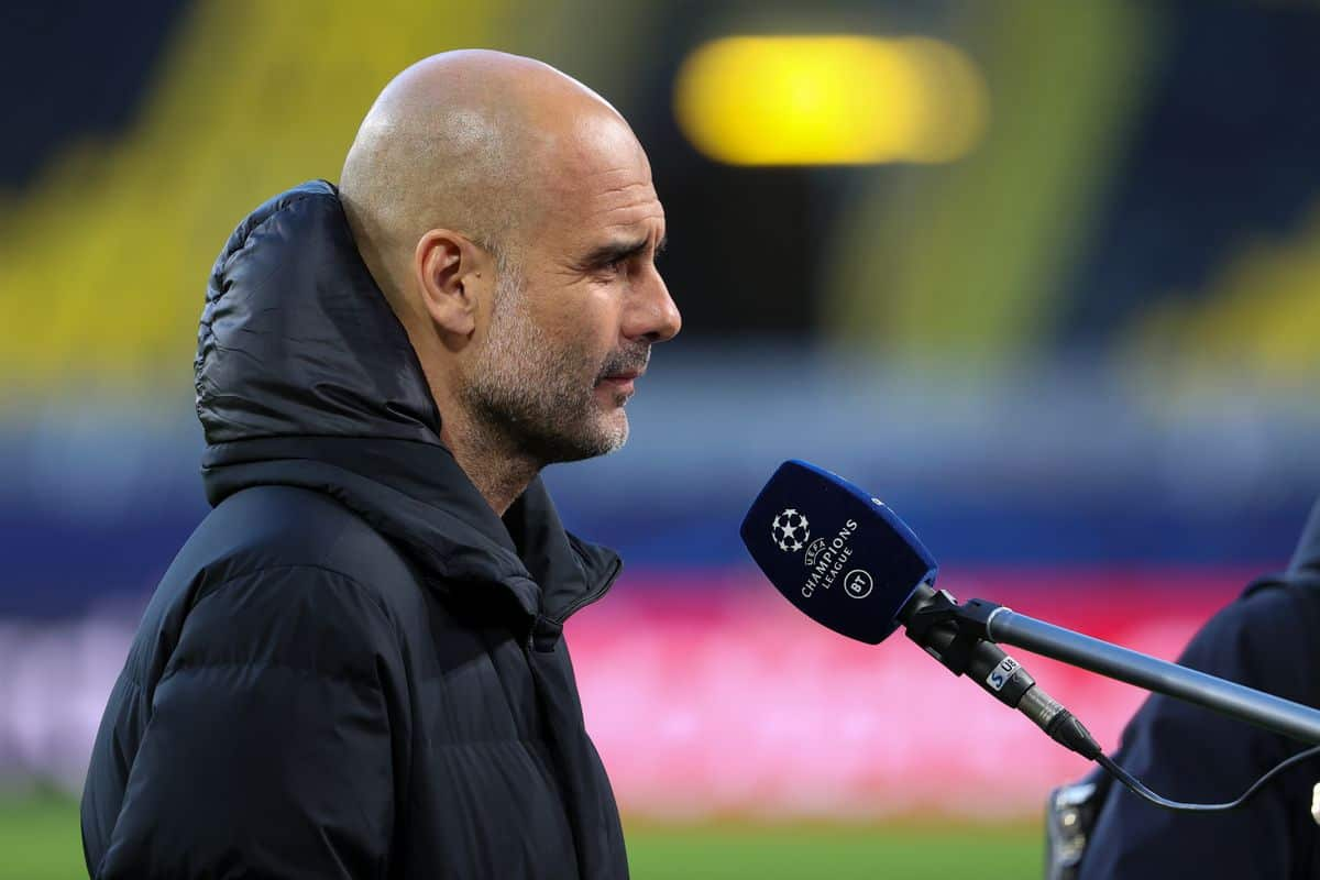 Pep Guardiola hilariously reacts to Champions League final referee appointment