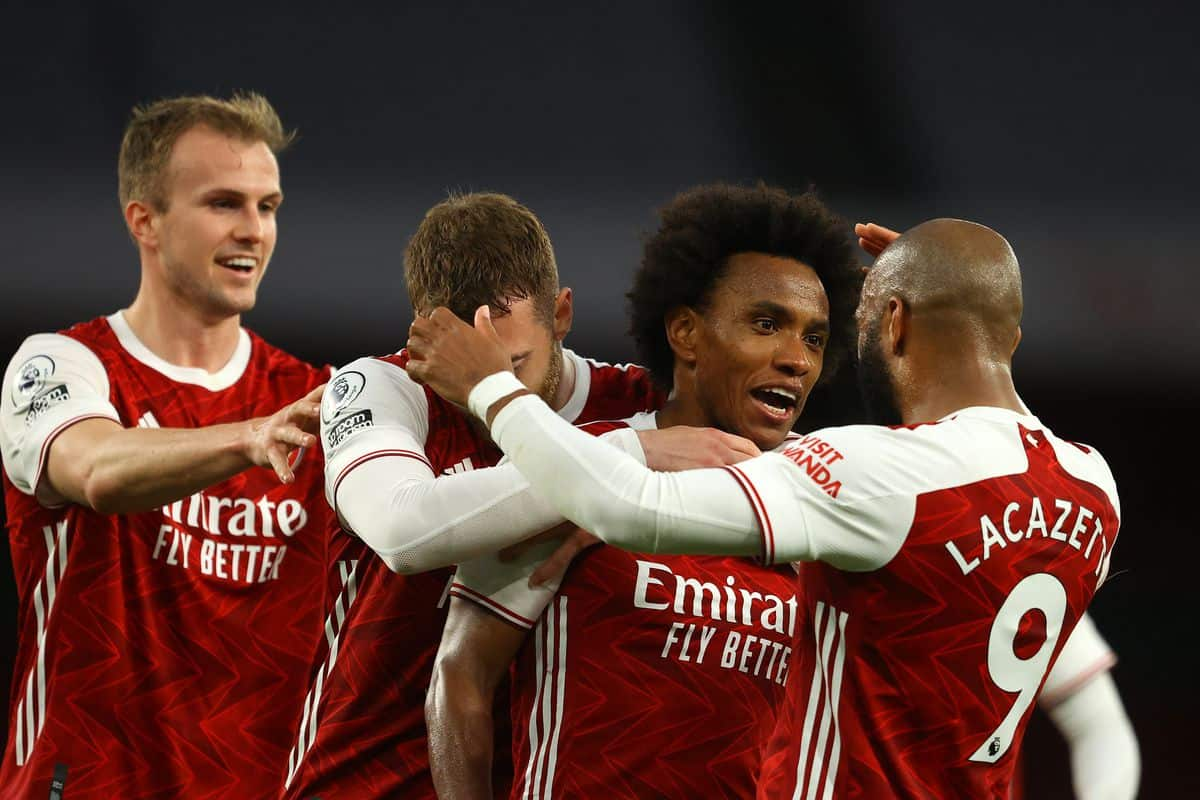 Full Arsenal squad revealed for Crystal Palace fixture