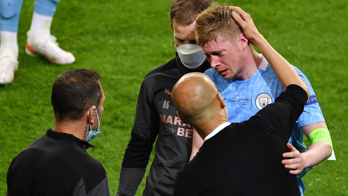 Kevin De Bruyne provides update after suffering an injury in Champions League final