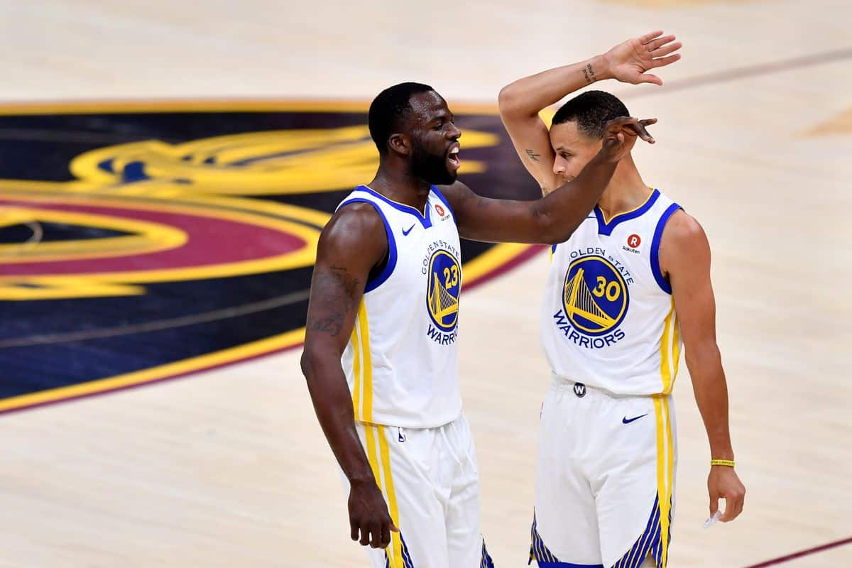 Draymond Green sends Stephen Curry warning to potential Warriors play-in opponents